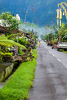 Bali, Tabanan, Batukau. A small village located high up on the southern slopes of Gunung Batukau.