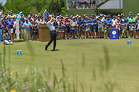 Jimmy Walker (USA) watches his tee shot on 1 during round 1 of the AT&T Byron Nelson, Trinity Forest Golf Club, at Dallas, Texas, USA. 5/17/2018.<br /> Picture: Golffile | Ken Murray<br /> <br /> <br /> All photo usage must carry mandatory copyright credit (© Golffile | Ken Murray)