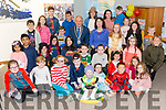 Mayor of Killarney cllr Michael Gleeson presenting the Summer Stars Awards to children in the Killarney Library last Saturday. Summer Stars Awards were given to children who read eight books in in eight weeks over the summer.