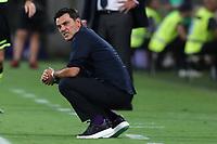 Vincenzo Montella coach of Fiorentina dejection<br /> Firenze 24-8-2019 Stadio Artemio Franchi <br /> Football Serie A 2019/2020 <br /> ACF Fiorentina - SSC Napoli <br /> Photo Cesare Purini / Insidefoto