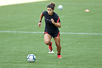 PORTLAND, OR - MAY 09: Rocky Rodriguez #11 of the Portland Thorns trains individually for the first time since the COVID-19 outbreak at Providence Park on May 09, 2020 in Portland, Oregon.