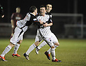 26/01/2010  Copyright  Pic : James Stewart.sct_jspa03_stenhousemuir_v_dunfermline  .:: JOE CARDLE CELEBRATES AFTER HE SCORES DUNFERMLINE'S FIRST :: .James Stewart Photography 19 Carronlea Drive, Falkirk. FK2 8DN      Vat Reg No. 607 6932 25.Telephone      : +44 (0)1324 570291 .Mobile              : +44 (0)7721 416997.E-mail  :  jim@jspa.co.uk.If you require further information then contact Jim Stewart on any of the numbers above.........