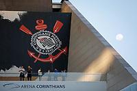 SÃO PAULO, SP 14.07.2019: CORINTHIANS-CSA - Lua. Corinthians e CSA durante partida válida pela décima rodada do Campeonato Brasileiro Série A, na Arena Corinthians, zona leste da capital, na tarde deste domingo (14). (Foto: Ale Frata/Código19)