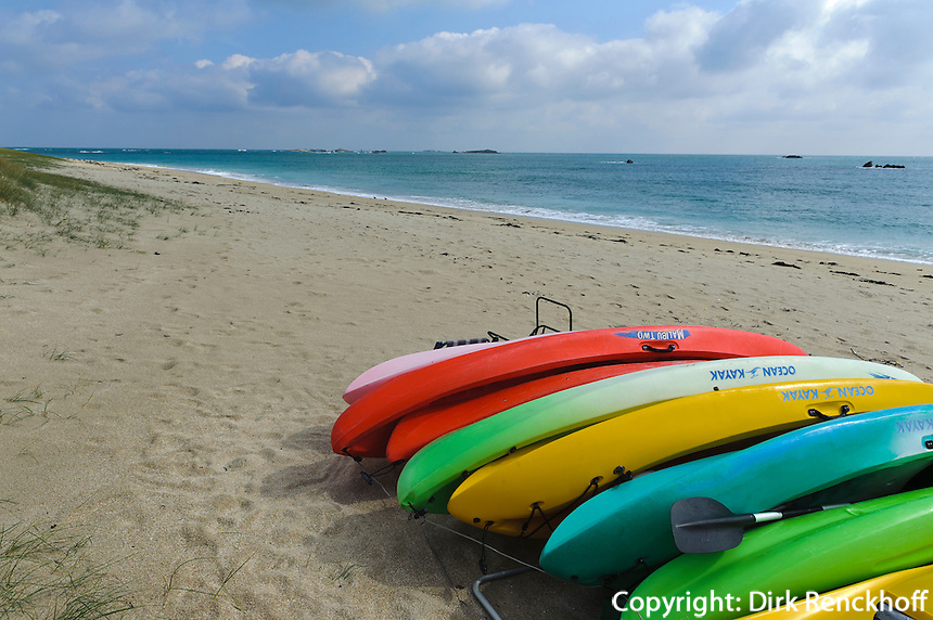 Shell Beach, Insel Herm, Kanalinseln