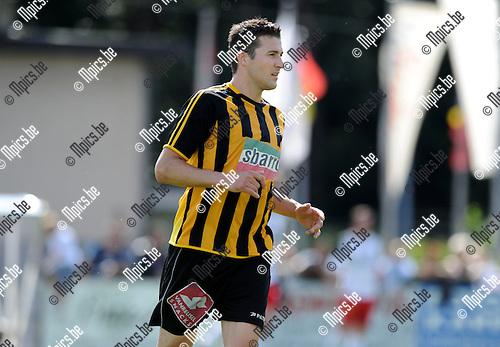 2012-08-01 / Voetbal / seizoen 2012-2013 / KFC Zwarte Leeuw / Sven Schoenmaekers..Foto: Mpics.be