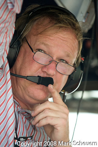 20 July 2008: Dale Coyne at the Honda Indy 200 IndyCar race at the Mid-Ohio Sports Car Course, Lexington, Ohio, USA.