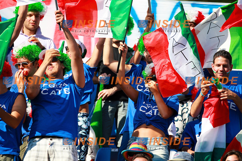 Roma 29th July 2009 - 13th Fina World Championships .From 17th to 2nd August 2009.Supporters.photo: Roma2009.com/InsideFoto/SeaSee.com