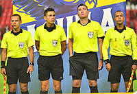 IBAGUÉ- COLOMBIA,20-09-2019:Ricardo Garcia Becerra referee central.Acción de juego entre los equipos  del Deportes Tolima y Equidad durante  partido por la fecha 12 de la Liga Águila II 2019 jugado en el estadio Manuel Murillo Toro de la ciudad de Ibagué. /Central referee Ricardo Garcia Becerra.Action game between teams  Deportes Tolima and Equidad during the 12 match for  the Liga Aguila I I 2019 played at the Manuel Murillo Toro stadium in Ibague city. Photo: VizzorImage / Juan Carlos Escobar  / Contribuidor