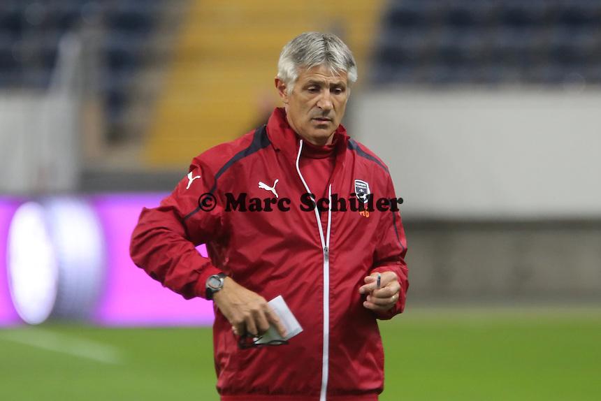 Co-Trainer Alain Benedet (Bordeaux) - Training Bordeaux zur Begegnung der Europa League Eintracht Frankfurt vs. Girondins Bordeaux