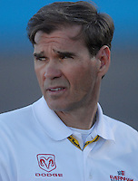 Apr 19, 2007; Avondale, AZ, USA; Nascar Nextel Cup Series team owner Ray Evernham during qualifying for the Subway Fresh Fit 500 at Phoenix International Raceway. Mandatory Credit: Mark J. Rebilas