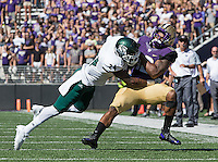 Dwayne Washington takes a big hit from Sac. State's Anthony... Payne.