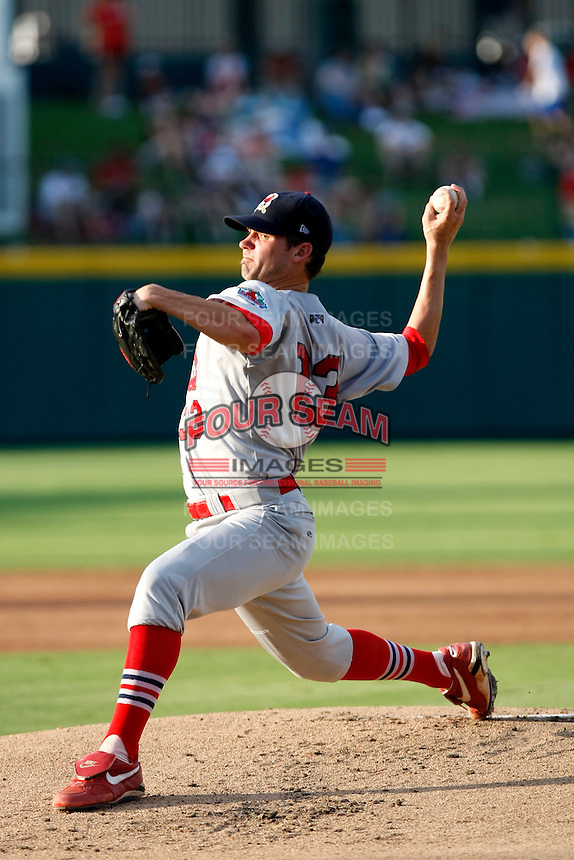 Trey Hearne - Springfield Cardinals.2009 Texas League All-Star game held at Dr. Pepper Ballpark, Frisco, TX - 07/01/2009. The game was won by the North Division, 2-1..Photo by:  Bill Mitchell/Four Seam Images