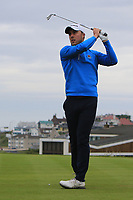 Eoin O'Brien (Clontarf) during Round 2 of the North of Ireland Amateur Open Championship 2019 at Portstewart Golf Club, Portstewart, Co. Antrim on Tuesday 9th July 2019.<br /> Picture:  Thos Caffrey / Golffile<br /> <br /> All photos usage must carry mandatory copyright credit (© Golffile | Thos Caffrey)