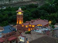 Schumah-Moschee im Bäderviertel Abanotubani, Tiflis – Tbilissi, Georgien, Europa<br /> Schumah Mosque in the thermal quarter, Tbilisi, Georgia, Europe
