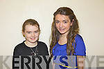 Solo artists Niamh Ní Chlúmháin from Spa and Orla Ní Chatháin from Ballymacelligott at the Munster Semi finals of Scór na nÓg held last Sunday in Askeaton, Co Limerick.