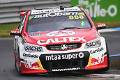 15th September 2017, Sandown Raceway, Melbourne, Australia; Wilson Security Sandown 500 Motor Racing; Steven Richards (888) drives the Team Vortex Holden Commodore VF during Supercars practice