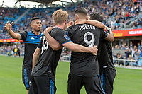 San Jose, CA - Thursday December 31, 2015: Major League Soccer (MLS) match between the San Jose Earthquakes and the Portland Timbers  at Avaya Stadium.