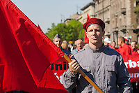 Communist march on Labour Day 2012