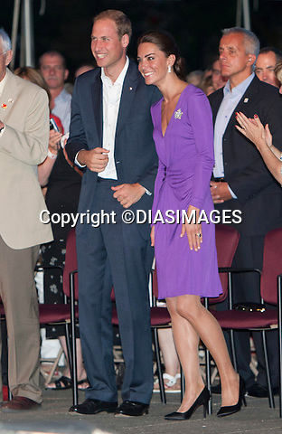 "PRINCE WILLIAM_ & KATE CANADA TOUR WRAP.The Duke and Duchess of Cambridge attend a Canada Day concert Parliament Hill, Ottawa_01/07/2011.Mandatory Credit Photo: ©DIASIMAGES..**ALL FEES PAYABLE TO: ""NEWSPIX INTERNATIONAL""**..No UK Usage until 27/07/2011.IMMEDIATE CONFIRMATION OF USAGE REQUIRED:.DiasImages, 31a Chinnery Hill, Bishop's Stortford, ENGLAND CM23 3PS.Tel:+441279 324672  ; Fax: +441279656877.Mobile:  07775681153.e-mail: info@newspixinternational.co.uk"