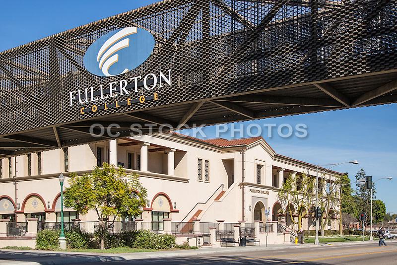 Fullerton Community College Pedestrian Bridge