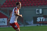 SAO PAULO, 04 DE JUNHO DE 2013 - TREINO SAO PAULO - O jogador Silvinho durante treino do Sao Paulo, no CT da Barra Funda, na tarde desta terça fera, 04, região oeste da capital. (FOTO: ALEXANDRE MOREIRA / BRAZIL PHOTO PRESS)