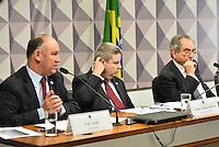 BRASILIA, DF – 21.06.2016 – COMISSÃO–IMPEACHMENT – O deputado e ex-ministro da Secretária de Direitos Humanos, Pepe Vargas, durante reunião da Comissão na tarde desta terça-feira, 21, no Senado Federal. (Foto: Ricardo Botelho/Brazil Photo Press)