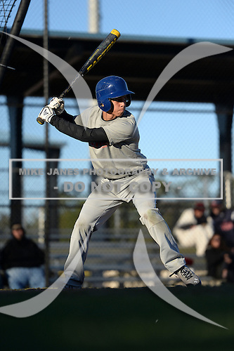 Kameron Reynolds (21) of Cherryville, North Carolina participates in the Baseball Factory All-America Pre-Season Rookie Tournament, powered by Under Armour, at Lake Myrtle Sports Complex on January 18, 2014 in Auburndale, Florida.  (Copyright Mike Janes Photography)