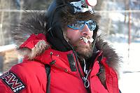 Lance Mackey at Anvik. Photo by Jon Little.
