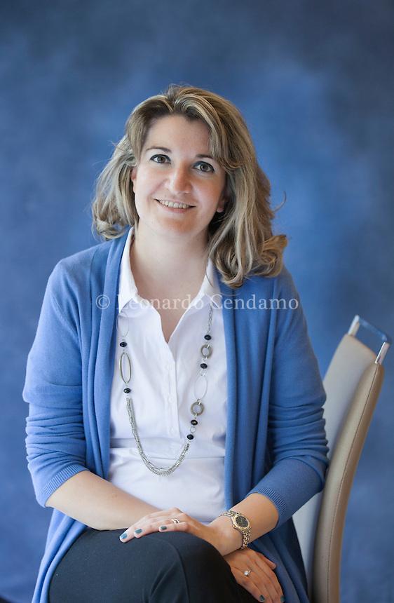 Anna Premoli è una scrittrice croata naturalizzata italiana. È la vincitrice del Premio Bancarella 2013, con il romanzo Ti prego lasciati odiare. È nata in Croazia, ma nel 1987 si è trasferita in Italia. Torino, 16 maggio 2015. © Leonardo Cendamo