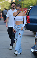 www.acepixs.com<br /> <br /> August 4 2017, New York City<br /> <br /> Model Bella Hadid went out with friends in downtown Manhattan on August 4 2017 in New York City<br /> <br /> By Line: Curtis Means/ACE Pictures<br /> <br /> <br /> ACE Pictures Inc<br /> Tel: 6467670430<br /> Email: info@acepixs.com<br /> www.acepixs.com