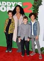 Garcelle Beauvais &amp; Children at the premiere for &quot;Daddy's Home 2&quot; at the Regency Village Theatre, Westwood. Los Angeles, USA 05 November  2017<br /> Picture: Paul Smith/Featureflash/SilverHub 0208 004 5359 sales@silverhubmedia.com