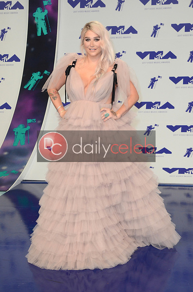 Kesha<br /> at the 2017 MTV Video Music Awards, The Forum, Inglewood, CA 08-27-17<br /> David Edwards/DailyCeleb.com 818-249-4998