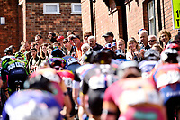 Picture by Allan McKenzie/SWpix.com - 14/05/2017 - Cycling - HSBC UK British Cycling Spring Cup Series  - Lincoln Grand Prix 2017 - Peloton michaelgate climb