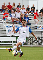Lakewood Ranch, FL - Sunday July 23, 2017: Cameron DeLillo during an international friendly match between the paralympic national teams of the United States (USA) and Canada (CAN) at Premier Sports Campus at Lakewood Ranch.