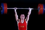 Takahiro Higa, <br /> MAY 22, 2016 - Weightlifting : <br /> All Japan Weightlifting Championship 2016 Men's -85kg <br /> at Yamanashi Municipal Gymnasium, Yamanashi, Japan. <br /> (Photo by AFLO SPORT)