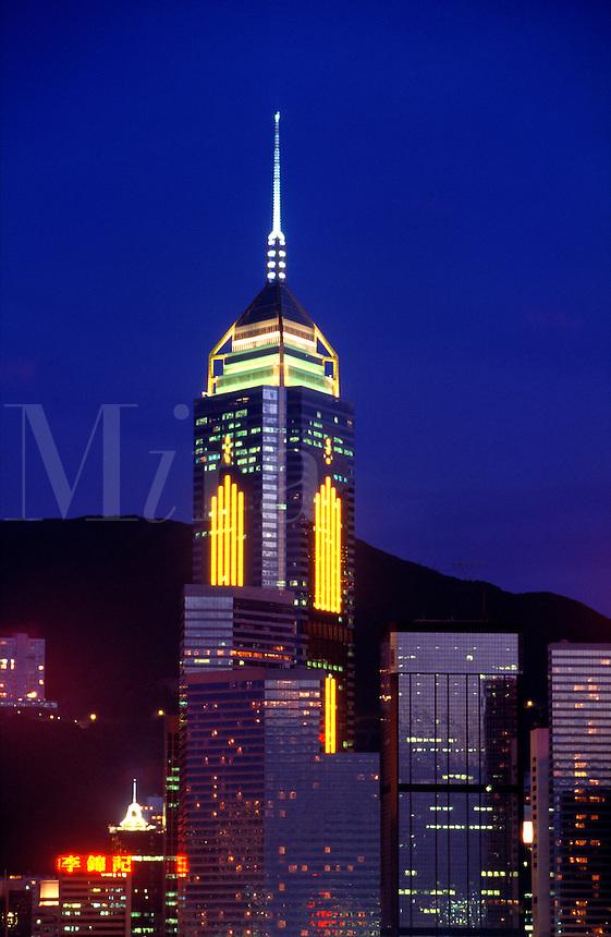 Hong Kong. China. Central Plaza, Wanchai..