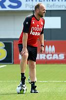 EMMEN - Voetbal, Eerste training FC Emmen , Jerns Vesting , 05-07-2017,  FC Emmen trainer Dick Lukkien