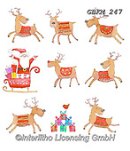Kate, CHRISTMAS ANIMALS, WEIHNACHTEN TIERE, NAVIDAD ANIMALES, paintings+++++Christmas page 97,GBKM247,#xa# ,sticker,stickers