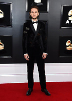 Zedd arrives at the 61st annual Grammy Awards at the Staples Center on Sunday, Feb. 10, 2019, in Los Angeles. (Photo by Jordan Strauss/Invision/AP)