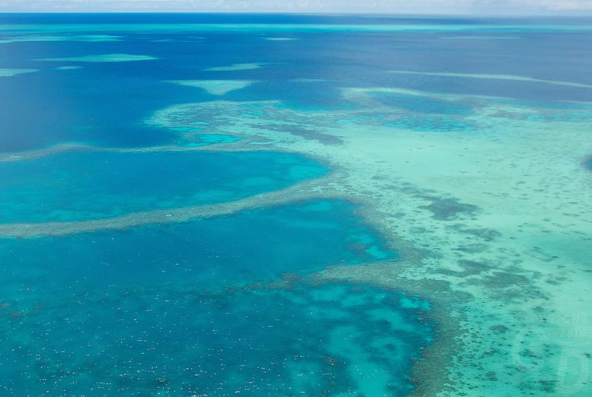 Aerial over Palau Micronesia