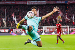 17.03.2019, Allianz Arena, Muenchen, GER, 1.FBL,  FC Bayern Muenchen vs. Mainz 05, DFL regulations prohibit any use of photographs as image sequences and/or quasi-video, im Bild Karim Onisiwo (Mainz #21) <br /> <br />  Foto &copy; nordphoto / Straubmeier