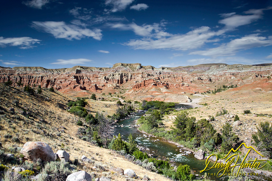 Wind River, Painted Hills, Badlands of Dubois Wyoming