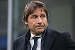 Antonio Conte Head coach of Inter during the Coppa Italia match at Giuseppe Meazza, Milan. Picture date: 12th February 2020. Picture credit should read: Jonathan Moscrop/Sportimage