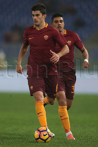 27.11.2016. Stadio Olimpico, Rome, Italy. Serie A Football. Roma versus Pescara. Perotti in action during the match.