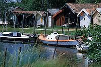 Europe/France/Aquitaine/33/Gironde/Biganos: Le port ostréïcole