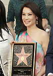 Lucy Liu Honored With Star On The Hollywood Walk Of Fame on May 01, 2019 in Hollywood, California.<br /> Lucy Liu 044