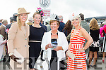 Enjoying Ladies Day at the Listowel Races on Friday were: Diane Crean, Mairead O' Shea, Margaret Twomey and Mairead Twomey from Ballyheigue