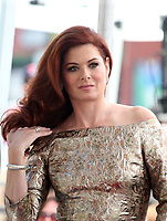 HOLLYWOOD, CA - OCTOBER 6: Debra Messing pictured as Debra Messing is Honored With A Star On The Walk Of Fame on Hollywood Boulevard in Hollywood, California on October 6, 2017. <br /> CAP/MPI/FS<br /> &copy;FS/MPI/Capital Pictures