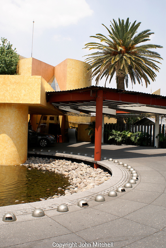 The Restaurante del Lago on the Lago Mayor in the Second Section of Chapultepec Park, Mexico City