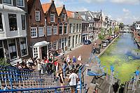 Nederland Maassluis.  2016 08 05. De sluis.  Links Veerstraat Noordzijde. Foto Berlinda van Dam / Hollandse Hoogte